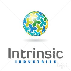 This could be interesting with insect instead of shape. intrinsic developers | StockLogos.com