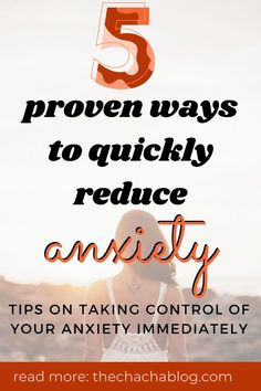 If you are feeling stress or anxious, try these 5 methods to help reduce your feelings and bring an immediate sense of calm. How to reduce anxiety naturally, self-care, how to calm down, how to reduce stress, how to reduce anxiety, anxiety tips, mental health tips, mental health awareness, how to help your mental health, improve your mental health, how to better your mental health, ways to improve mental health, how to be happier, stress relief, stress relief activities, breathing exercises