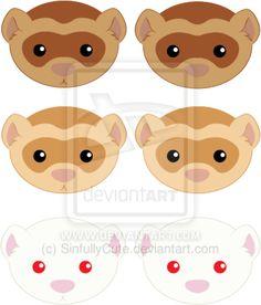 carpet shark ferret | Logo's Ferrets by SinfullyCute on deviantART