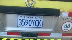 BOLÍVIA (Estado Plurinacional da) Bolivia, Licence Plates, Family Chiropractic, Euro, License Plates