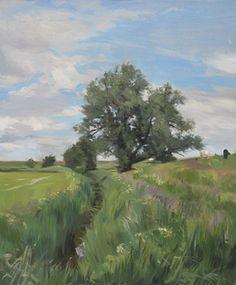 Till Warwas - Malerei - Landschaft / Wiesen und Felder                                                                                                                                                     Mehr