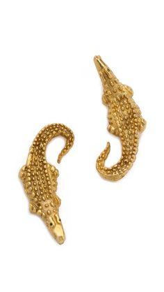 3117c541366 push BY PUSHMATAaHA Crocodile Earrings Gems Jewelry, Cute Jewelry, Jewelry  Box, Jewelry Accessories