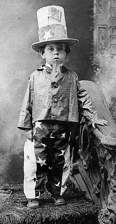 Child's Uncle Sam costume