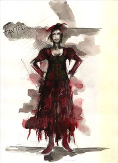 Interview: Les Mis costume designer /  Paco Delgados ideas and sketches