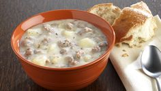Hearty Sausage and Baked Potato Soup