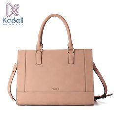 Kadell NEW Luxury Brand Bag Women Leather Handbags Matte PU Leather Ladies Tote Bolsa Vintage Messenger Crossbody Shoulder Bags  #Affiliate