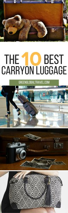 Here are our top pick for carryon luggage! | Travel | Gear | Baggage  | Plane | Fashion |