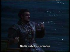 Nessun Dorma. De la ópera Turandot con subtítulos en español y explicaci... la mas romántica de todas las arias