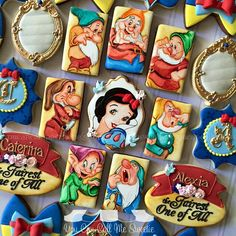 Snow White Cookies made by You Can Call Me Sweetie