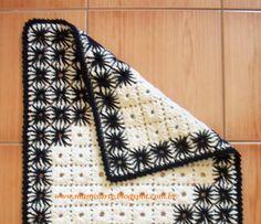 Crochet et Tricot da Mamis: Tapete em Crochet Bordado- Dicas para Bordá-lo