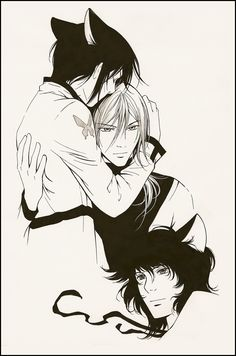 Ritsuka, Soubi & Semei by Loveless Anime, Anime Watch, Manga Comics, Cuddling, Manga Anime, Batman, Deviantart, Superhero, Monsters