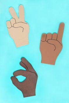 foam finger coloring pages - photo#34