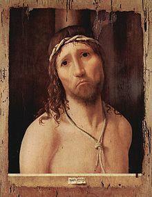 Ecce Homo ( Piacenza ) Antonello da Messina