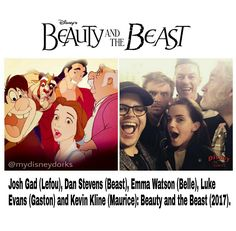 Beauty and the Beast Cast 2017