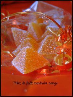 Pâte de fruits mandarine- orange