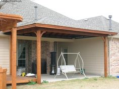 Building an Attached Patio Cover | patio cover attached to house ...