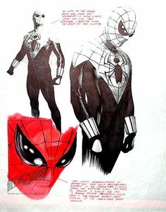 Alex Ross Art Spiderman Spiderman sketch 413