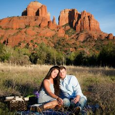 Beautiful Sedona Engagement Session, captured by Cyndi Hardy Photography.