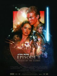 Star Wars - Episode II - Attack of the Clones - Mini Print