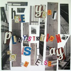Ransom note by Jodie Paterson