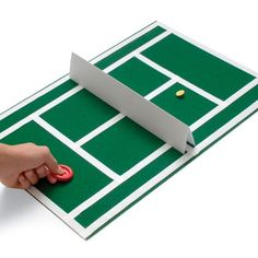 Serve up the fun of two classic games with this hybrid tabletop variation that players (aka winkers) will simply love.