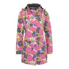 Calliope Long Length Print Waterproof Coat Waterproof Coat, Weird Fish, High Neck Dress, Shirt Dress, Lady, Mens Tops, Shirts, Cream, Clothes