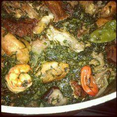 Sweet sweet African food