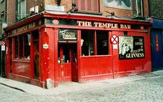 The Temple Bar, Ireland---The first place mom and I went on our 1st trip to Ireland.