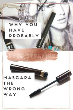 How To Get Perfect Lower Lashes Everytime With Any Mascara-Makeup-Hack Blinc Mascara, Mascara Brush, 3d Fiber Lash Mascara, Mascara Tips, Fiber Lashes, How To Apply Blusher, How To Apply Eyeliner, Beauty Routine Planner