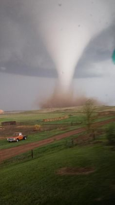 Tornado, May 2014, in Watford City, North Dakota.