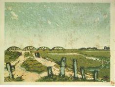 新東京百景 深沢索一「新荒川」(1930)