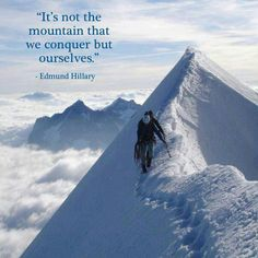 Edmund Hillary,first to climb Everest -  WHY WHY WHY??????