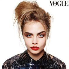 Cara Delevingne on Cover of Vogue Australia October Issue ...