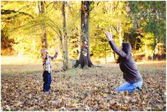 Mommy and Me Fall Session - Wildflower Photography, www.wildflower-photography.com #fall #kids #photography