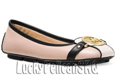 Michael Kors Fulton Moc Flats Bisque/Black Pink M(Medium) NWB #MichaelKors…