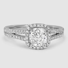 18K White Gold Fortuna Diamond Ring