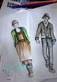 Die Kostüme für den Film entwirft die Salzburger Künstlerin Claudia Trentini. Baseball Cards, Art, Movie, History, Art Background, Kunst, Performing Arts, Art Education Resources, Artworks