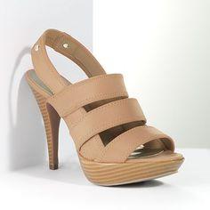 Very Nice! (Simply Vera by Vera Wang Dress Sandal found at Kohl's, orig. price $69.99.)