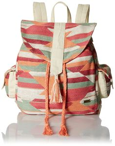 Amazon.com: Roxy Delhi Backpack, Ax Desert Point Geo Combo Sand, One Size: Shoes