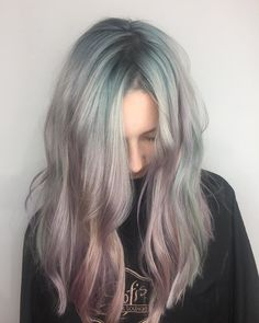 15 Photos That Prove Sherbet is the Prettiest Hair Color of the Summer // Pastel blue hair color inspo