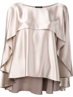 Lanvin draped blouse