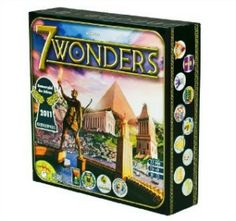 7 Wonders - Family Friendly Games: Great Gifts for Teens and Tweens