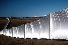Christo and Jeanne-Claude, Remembering the Running Fence, at the Smithsonian American Art Museum | By Richard B. Woodward