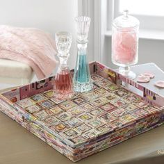Recycled paper tray