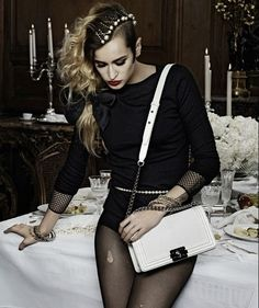 Alice does Chanel exceptionally well