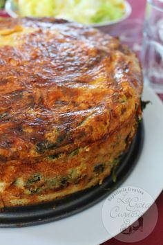 Este pastel de queda muy rico, si os gustan las espinacas claro, a mi me encantan y por eso las uso mucho, me gustan frescas, las...