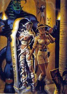 MissBB - Art of Fastner and Larson Fantasy Book 007
