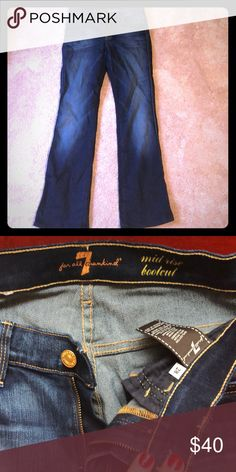 7 For All Mankind bootcut jeans EUC jeans...hardly worn 7 For All Mankind Jeans Boot Cut