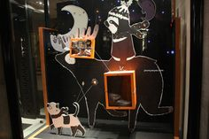 Hermes windows at Bond street, London