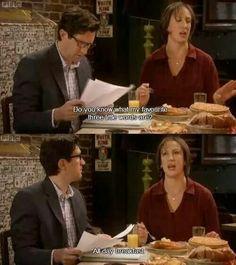 Miranda < actually said this today Miranda Tv Show, Miranda Bbc, British Sitcoms, British Comedy, Miranda Hart Quotes, Funny Memes, Hilarious, Funny Quotes, Bad Education